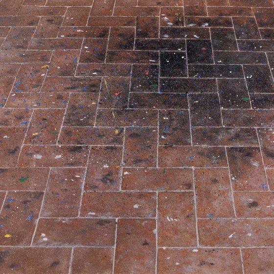 Villa di Primo Conti 2 olio su cartone, cm 25×35
